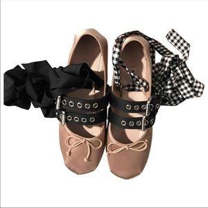 Miu Miu ballerina platform shoes authentic